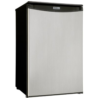 Danby 4.4 Cu.Ft. All Refrigerator in Spotless Steel Finish