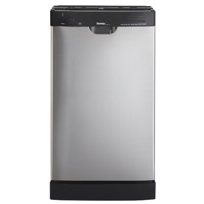"18"" Built-In Dishwasher in Stainless Steel Energy Star Certified Product Photo"