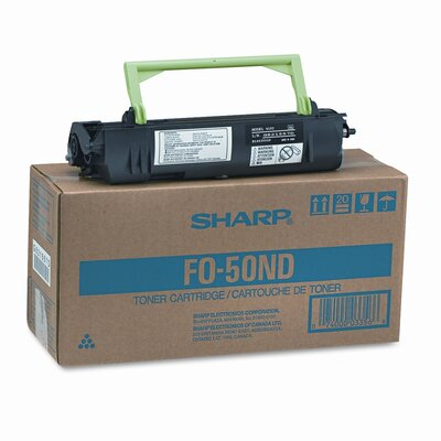 Sharp F050ND Toner/Developer Cartridge, Black