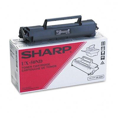 Sharp UX50ND OEM Toner Cartridge, 5,600 Page Yield, Black