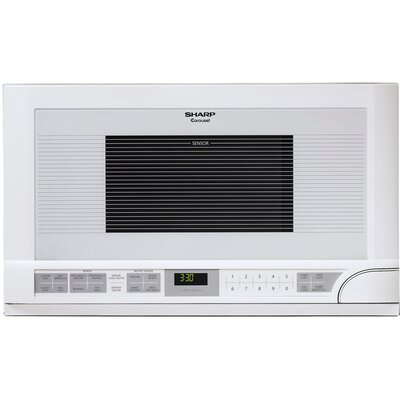 1.5 Cu. Ft. 1100W Built-In Microwave in White Product Photo