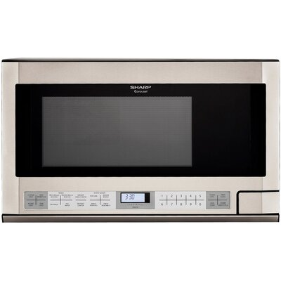 1.5 Cu. Ft. 1100W Countertop Microwave in Stainless Steel Product Photo