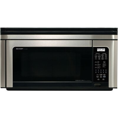 1.1 Cu. Ft. 850W Over-the-Range Microwave in Stainless Steel Product Photo