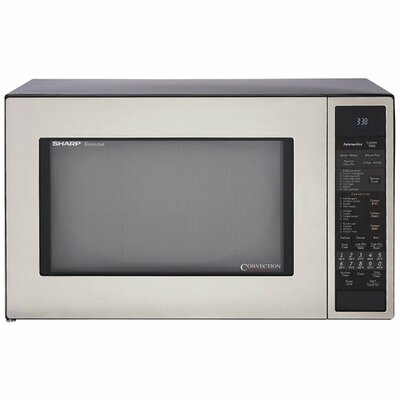 1.5 Cu. Ft. 900W Countertop Microwave in Stainless Steel Product Photo