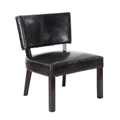 Crocodile Print Side Chair by Powell