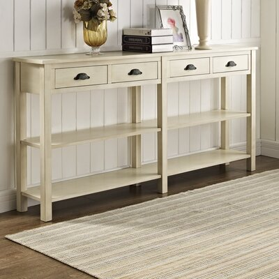 Crackle Console Table by Powell