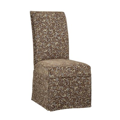 Classic Seating Leaves Parson Chair Skirted Slipcover by Powell