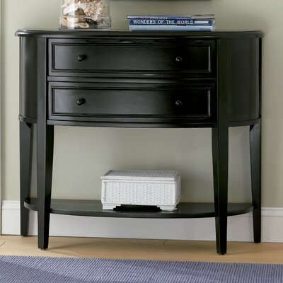 Demilune Console Table by Powell