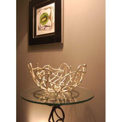 Katigi Designs Silver Plated Aluminium Bowl