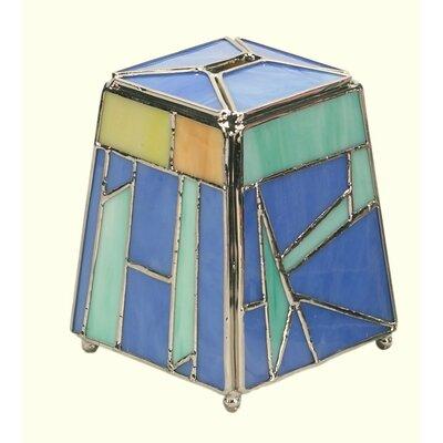 Israel Giftware Design Art Glass Tzedakah Box