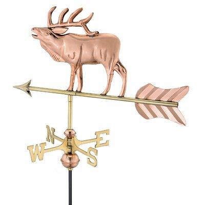 Good Directions Elk Weathervane
