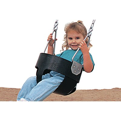 Single Post Swing with Painted Frame and Tot Swings Product Photo