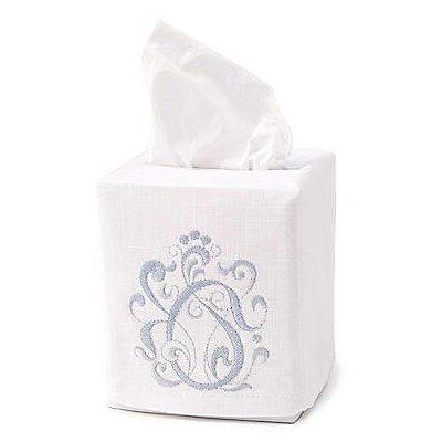 English Scroll Tissue Box Cover by Jacaranda Living