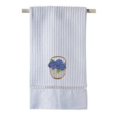 Hydrangea Basket Hand Towel by Jacaranda Living