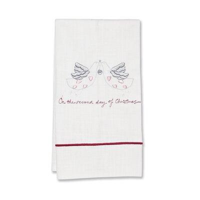 Jacaranda Living Second Day of Christmas Hand Towel