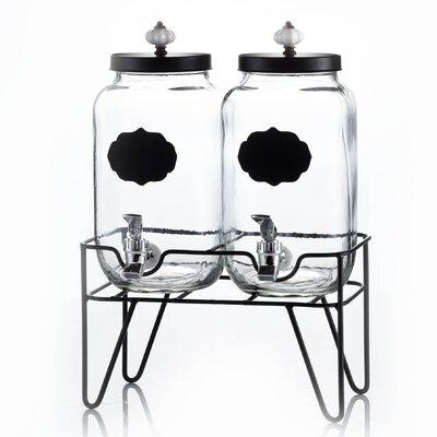 Manchester 4 Piece Beverage Dispenser Set by Style Setter