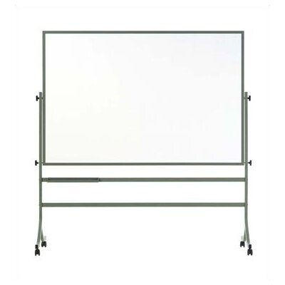 Marsh Remarkaboard Free Standing Reversible Whiteboard, 4' x 6'