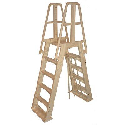 Vinyl Works Premium A Frame Above Ground Pool Ladder
