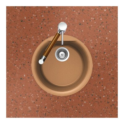 "17.13"" x 17.13"" Euro Series Dual Mount Round Bar / Kitchen Sink Product Photo"