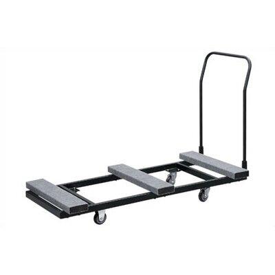 Buffet Enhancements Rectangular Folding Table Dolly