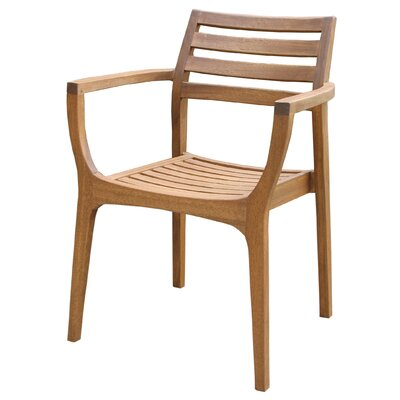 Danish Eucalyptus Stacking Chair by Outdoor Interiors