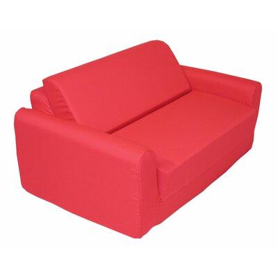 Elite Products Children's Polyester Sleeper Sofa