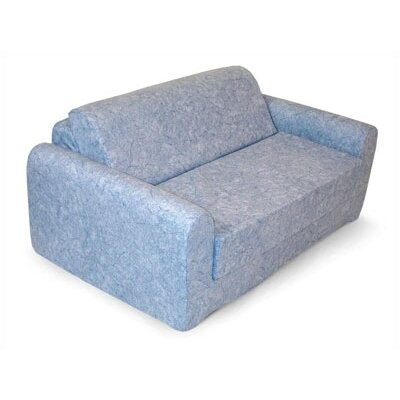 Children's Foam Sleeper Sofa - Denim by Elite Products