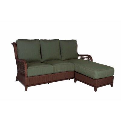 Aberdeen Chaise Lounge Sofa With Cushions Wayfair