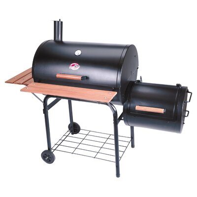 Char-Griller Smokin Pro Charcoal Grill & Smoker