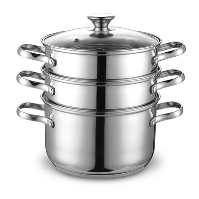 4 Piece Stainless Steel Multi Pot Set by Cook N Home