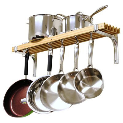 Wall Mounted Pot Rack by Cooks Standard