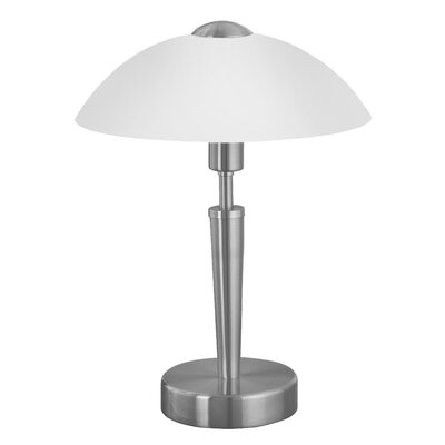 "EGLO Solo 1-Light 13.75"" H Table Lamp with Bowl Shade"