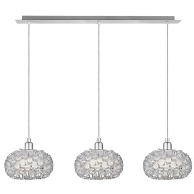 Rebell 3 Light Kitchen Island Pendant Product Photo