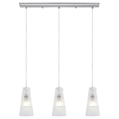Noria 3 Light Kitchen Island Pendant Product Photo