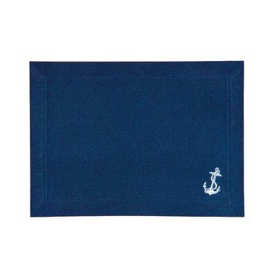 Coastal Anchor Canvas Placemat by C & F Enterprises