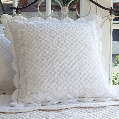 Laura Euro Sham by Taylor Linens