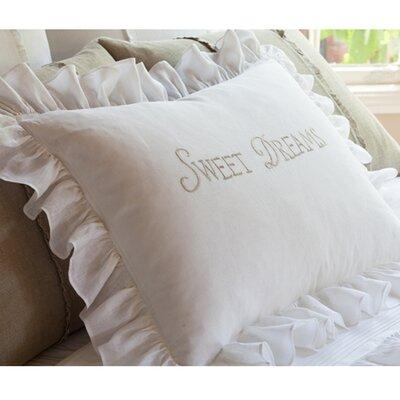 Sweet Dreams Linen Standard Sham by Taylor Linens