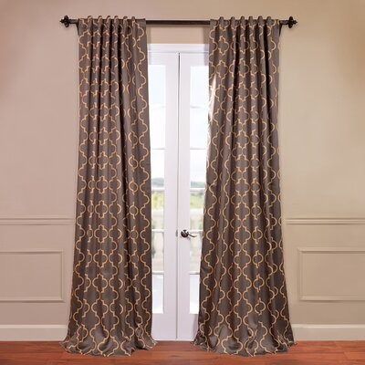 Seville Blackout Single Curtain Panel Product Photo