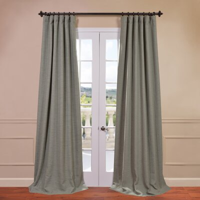 Half Price Drapes Bellino Blackout Single Curtain Panel