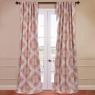 Henna Blackout Single Curtain Panel Product Photo
