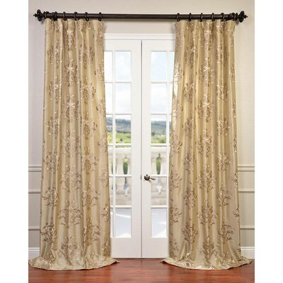 Ankara Taffeta Single Curtain Panel Product Photo