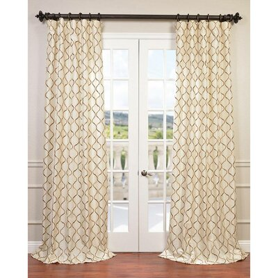 Tunisia Single Curtain Panel Product Photo