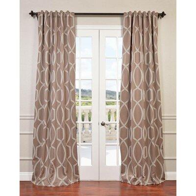 Lisbon Single Curtain Panel Product Photo