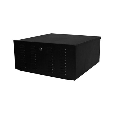 Quest Manufacturing VCR/DVR Security Lock Box Enclosure