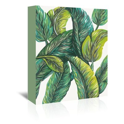 Urban Road Tropical 4 Painting Print on Gallery Wrapped Canvas by Americanflat