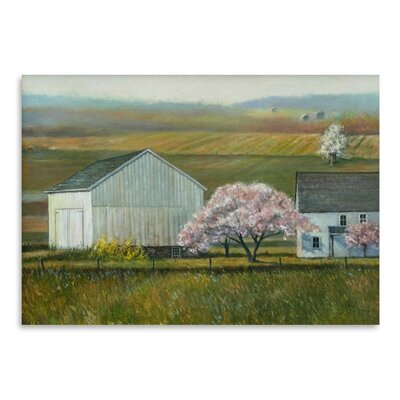 Bucks Co Spring Painting Print by Americanflat