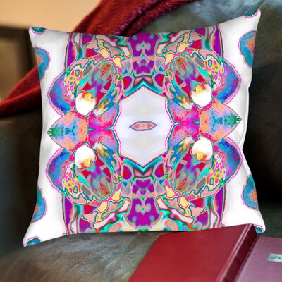 Sweet Orchid Throw Pillow by Americanflat