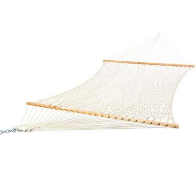 Deluxe Cotton Rope Hammock by Castaway Hammocks