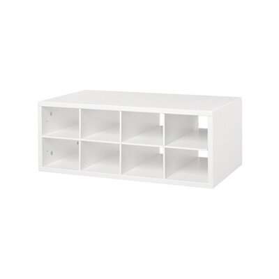 Organized Living freedomRail Double Hang O-Box Cubby Product Photo