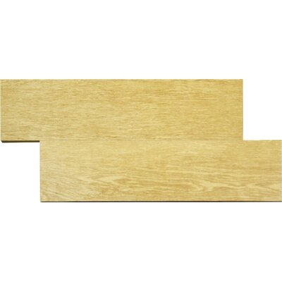 "MS International Wood Stone 6"" x 24"" Ceramic Wood Look Tile in Beige"